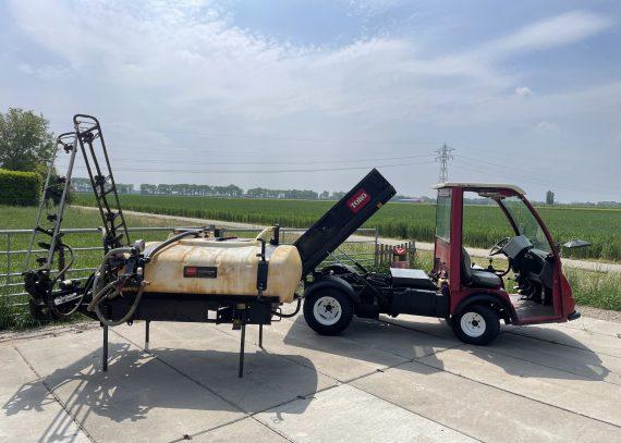 Toro Workman 4300D 4wd diesel met kiepbak en spuit opbouw